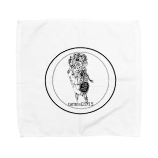 みじじびと Towel handkerchiefs