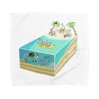 ワオパラダイス Towel handkerchiefs