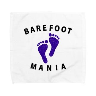 ベアフットマニア Towel handkerchiefs