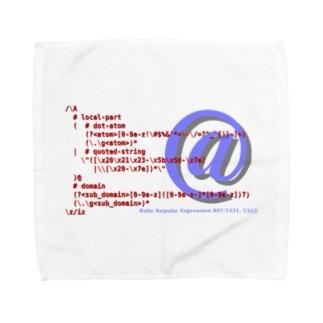 メールアドレス正規表現 1.0.1 Towel handkerchiefs