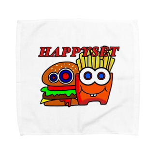 ハッピーセット Towel handkerchiefs