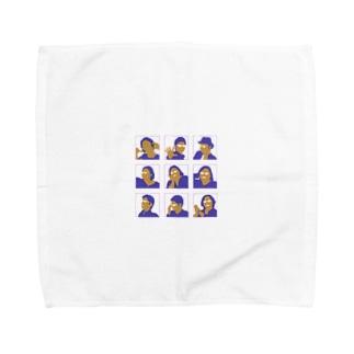 まり探 Towel handkerchiefs