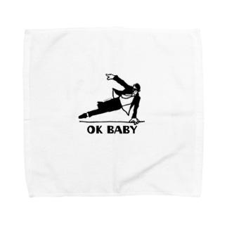 OK BABY Towel handkerchiefs