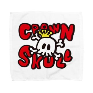 SKULL CROWN タオルハンカチ