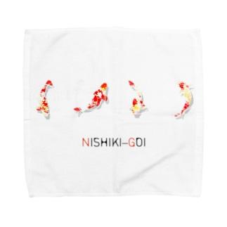 NISHIKI-GOI タオルハンカチ