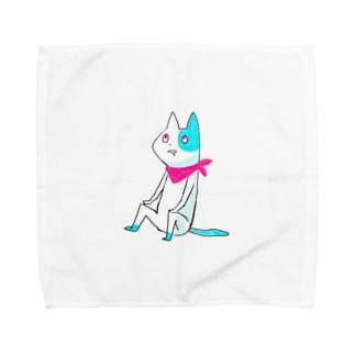 うつろねこ Towel handkerchiefs