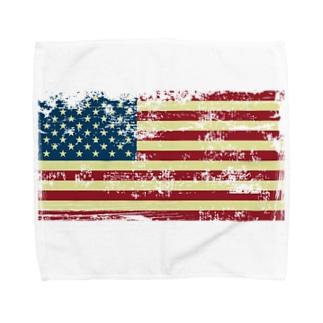 星条旗デザイン Towel handkerchiefs