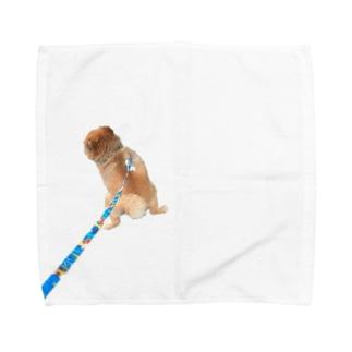 ねむくんおトイレ中 Towel handkerchiefs