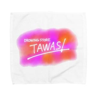 TAWAS!(ピンク) Towel handkerchiefs