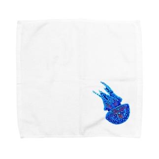 クラゲ   2 Towel handkerchiefs