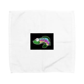 極悪ひろちゃん Towel handkerchiefs
