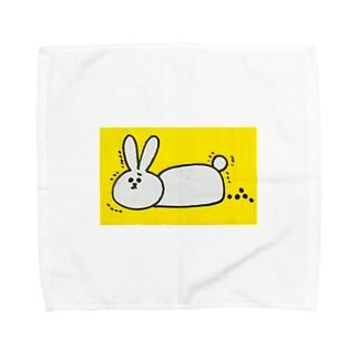 ぽろぽろうさぎ Towel handkerchiefs