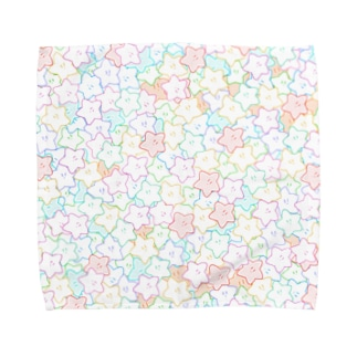 ミ・スター カラフル Towel handkerchiefs
