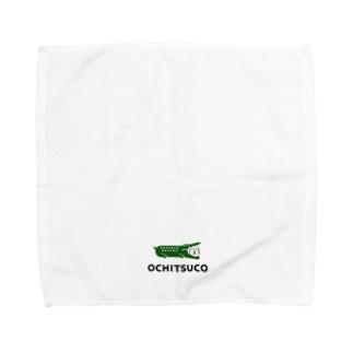ふきだしいぬ【OCHITSUCO】 Towel handkerchiefs
