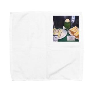 メロンとタマゴ Towel handkerchiefs