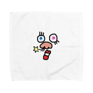 ☆らっきー鼻毛☆ Towel handkerchiefs