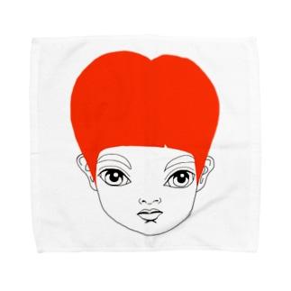 RED HEAD ANGE タオルハンカチ