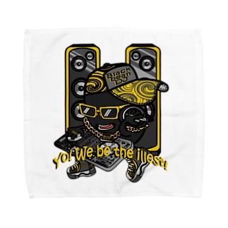 黒豆DJ Towel handkerchiefs