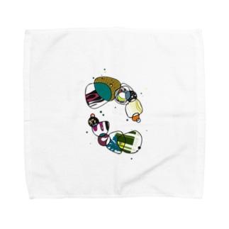 ワチャワチャ Towel handkerchiefs