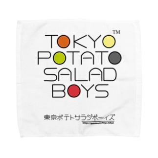 東京ポテトサラダボーイズ・マルチカラー公式 タオルハンカチ