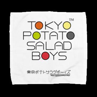 東京ポテトサラダボーイズ公式ショップの東京ポテトサラダボーイズ・マルチカラー公式 タオルハンカチ
