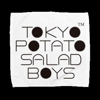 東京ポテトサラダボーイズ公式ショップの東京ポテトサラダボーイズ公式ネオクラシックロゴ Towel handkerchiefs