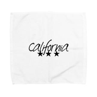カリフォルニア Towel handkerchiefs