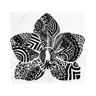 胡蝶蘭 Towel handkerchiefs