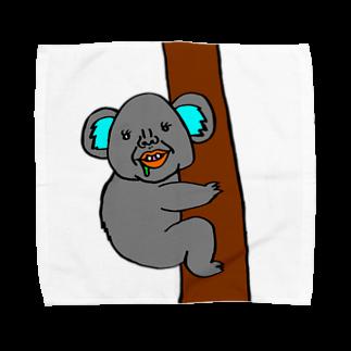 うめもと公式のコアラのまさみ2 Towel handkerchiefs