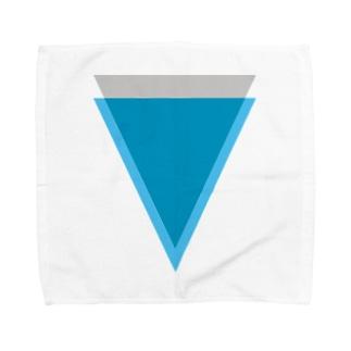 Verge(バージ)ロゴ タオルハンカチ