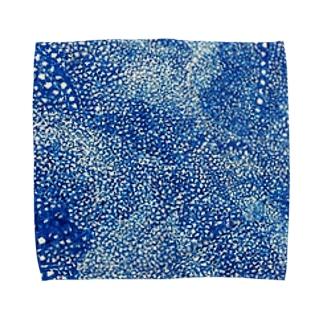 ジンベエザメ柄 Towel handkerchiefs