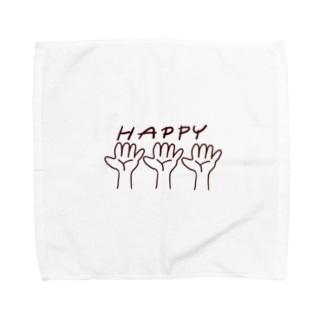 手相くん Towel handkerchiefs