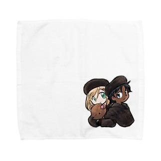 黒白冬服 Towel handkerchiefs