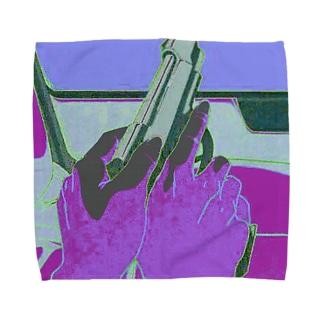 gun Towel handkerchiefs