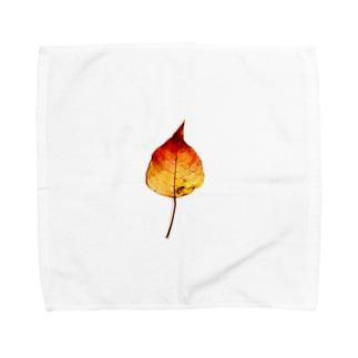 秋色 Towel handkerchiefs
