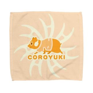 コロユキ・シンプル・エースの証 Towel handkerchiefs
