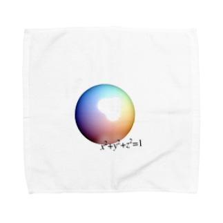 球の方程式 Towel handkerchiefs