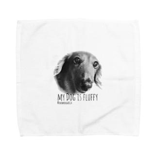 犬シリーズ Towel handkerchiefs