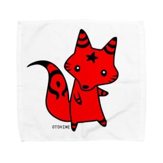 アカ君 Towel handkerchiefs