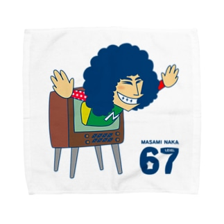 LEVEL67 タオルハンカチ