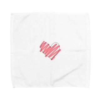はあと。 Towel handkerchiefs