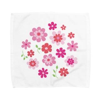 花の集い Towel handkerchiefs