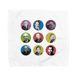 文豪オールスターズ Towel handkerchiefs