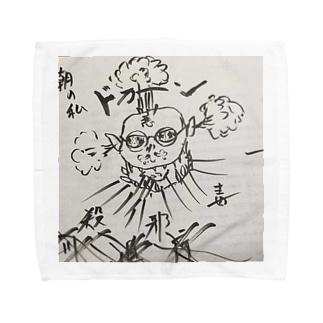 なかまた ほし クサのいかりのXanthippespert Towel handkerchiefs