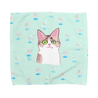 綺麗なお目目 Towel handkerchiefs