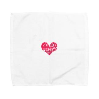 ひとめぼれ Towel handkerchiefs