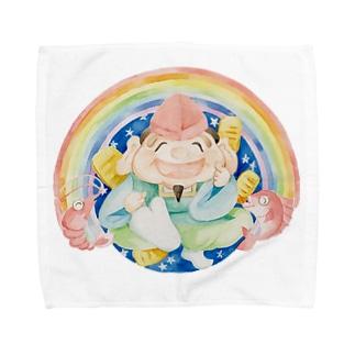 ゑびすきっぷタオルハンカチ Towel handkerchiefs