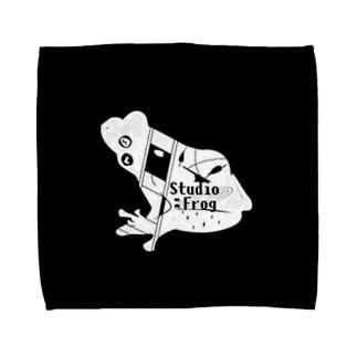 Studio:Frog おふざけ物販 「黒」 Towel handkerchiefs