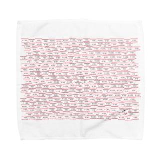 趣味の風景シリーズ「ショッピング」 Towel handkerchiefs