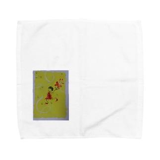 dancin' girl Towel handkerchiefs